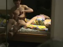 Couple film their anal session in the mirror,ipad,tablet,