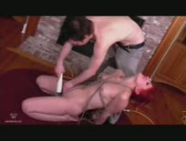Roped Toyed and Fucked