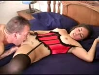 Cute brunette - cris taliana gets 3 cumshots