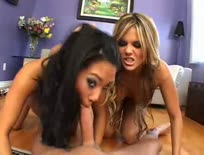 Asa Akira and Mackenzee Pierce threesome