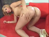 Blonde teen fucked and jizzed