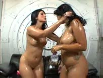 Booty Babes Luscious and Kya Threesome
