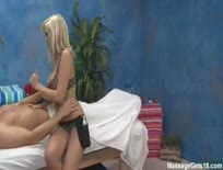 Britney Beth massage girl