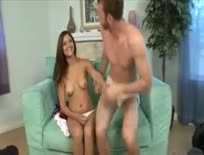 Cheerleader Does Well Hung guy