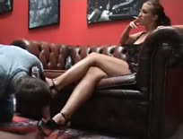 Domina Smoking cock