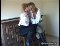 Smoking Fetish - Lesbians Smoking