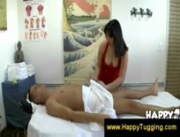 Asian masseuse offers to suck a guys dick