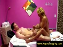 Happy ending from an Asian masseuse