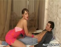 Hot teen gets body caressed well - 1